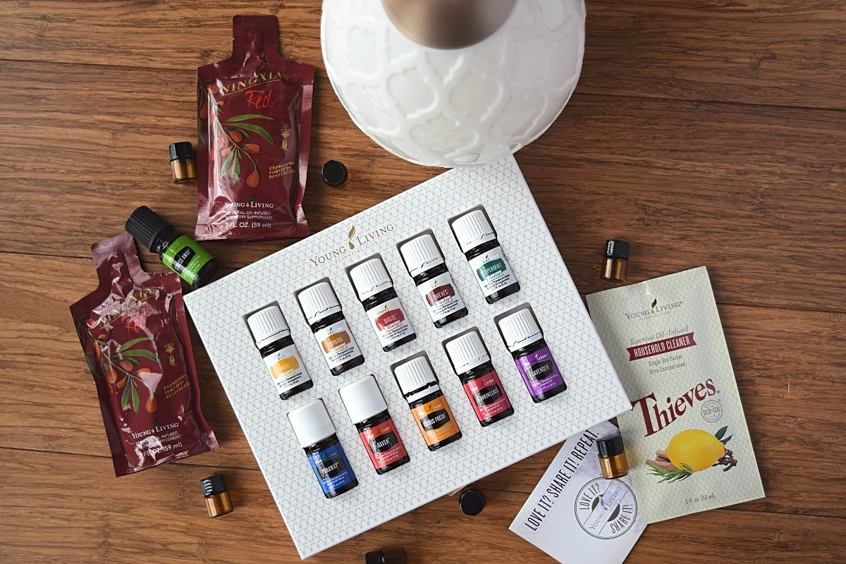 Young Living Essential Oil Premium Starter Kit A Stray Kitchen