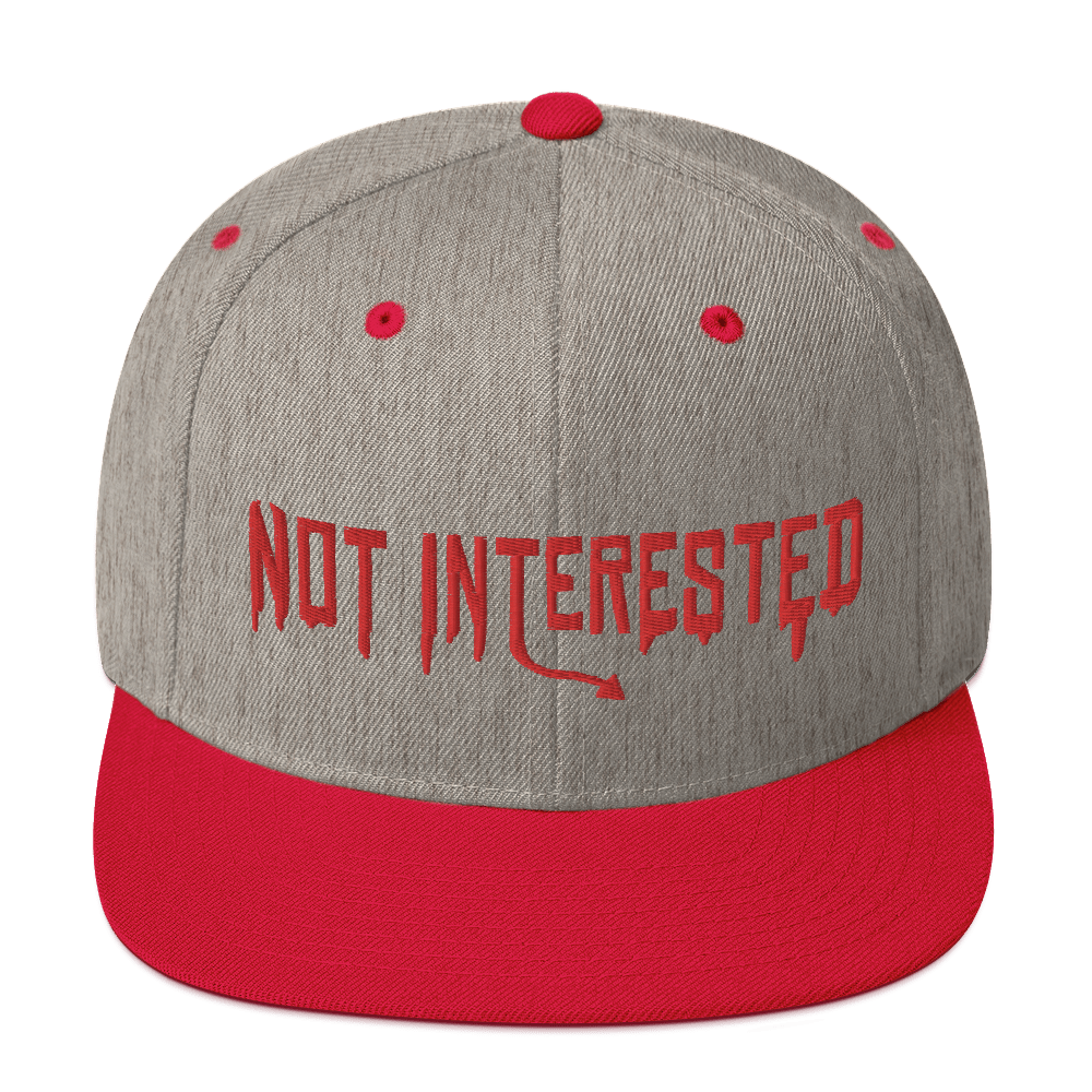 "Featured image for ""Not Interested - Snapback Hat"""