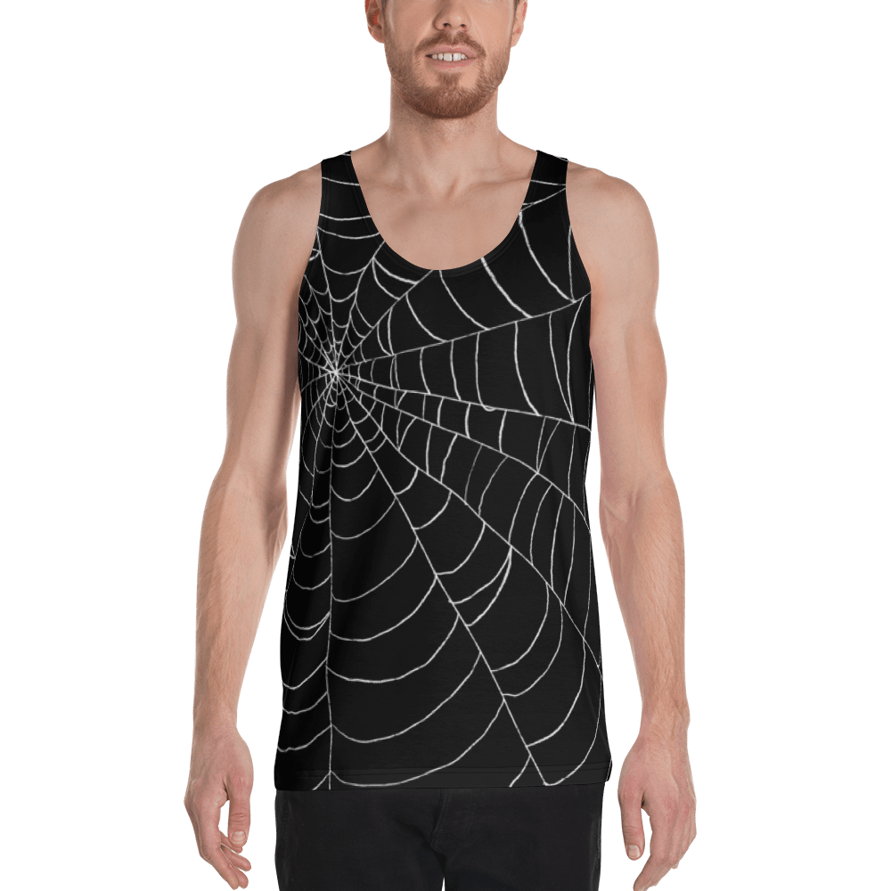 "Featured image for ""Black Web - Unisex Tank Top"""