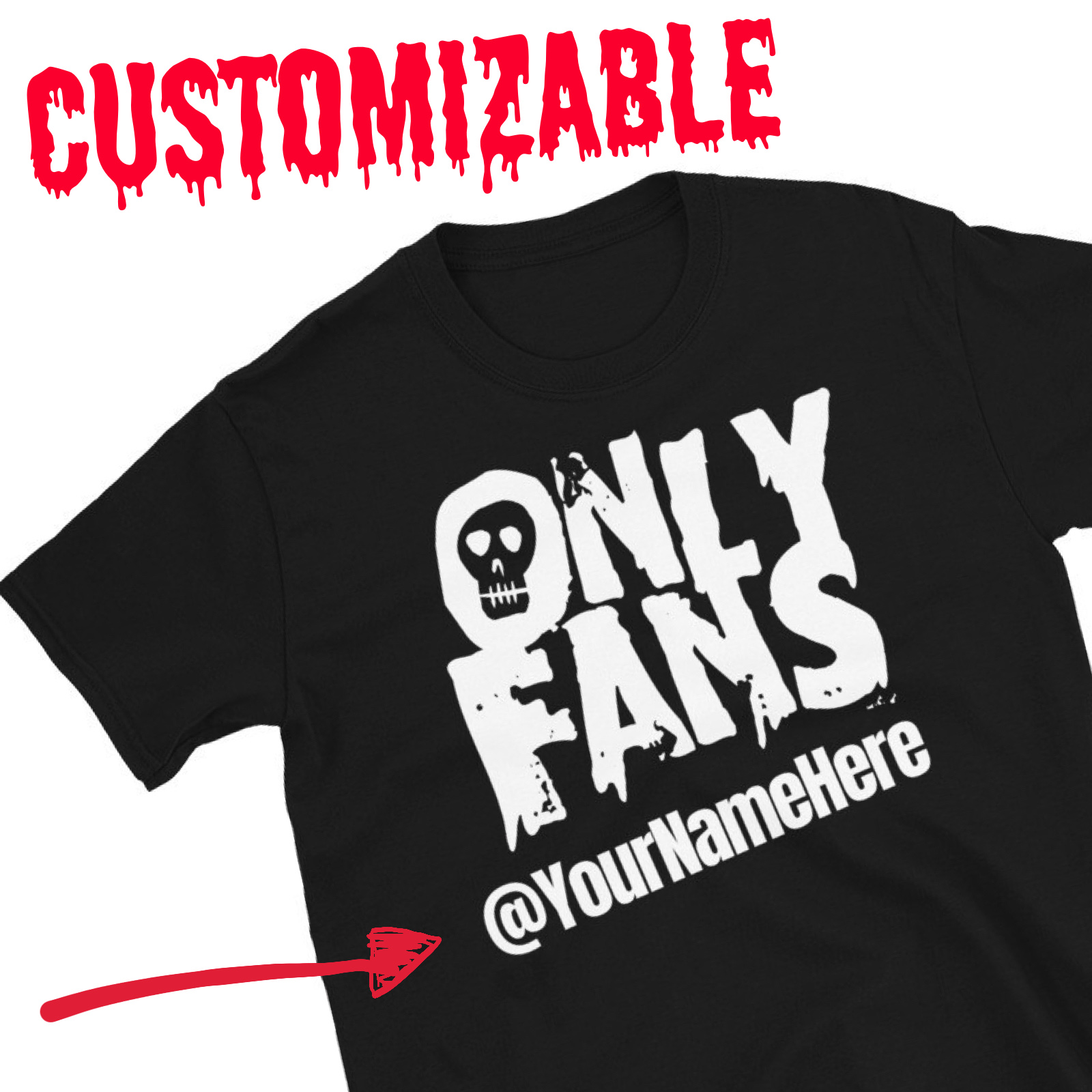 "Featured image for ""CUSTOM - OnlyFans - Short-Sleeve Unisex T-Shirt"""