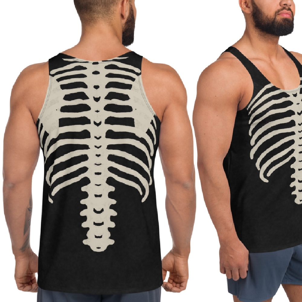 "Featured image for ""Dirty Bones - Unisex Tank Top"""