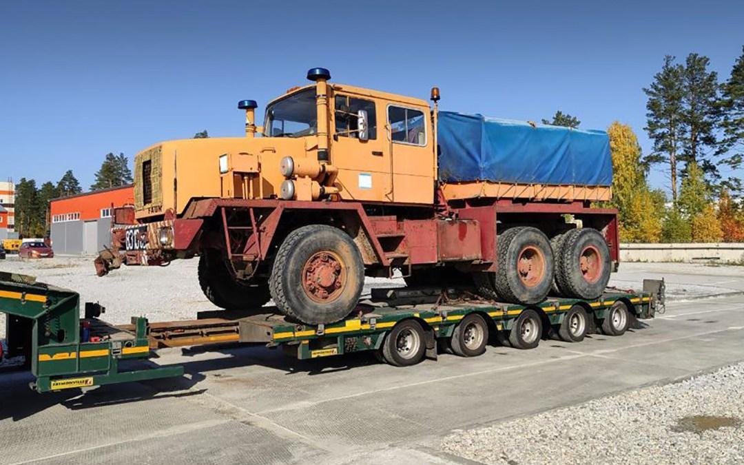 Challenge gemeistert: Sachsenland importiert erfolgreich Oldtimer-LKW aus Russland