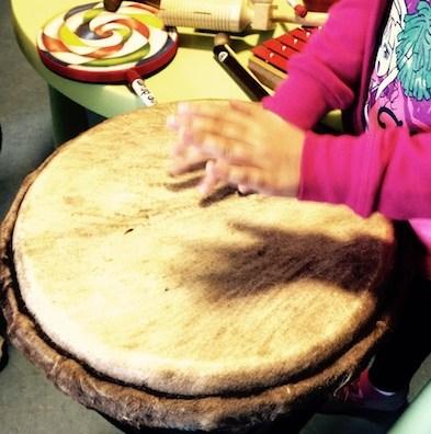 Musiktherapie mit Kindern
