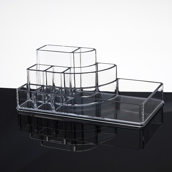 Desktop Clear Acrylic Lipstick and Cosmetic Organizer