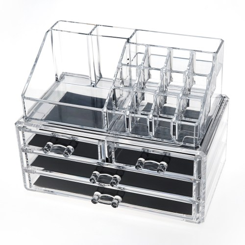 Acrylic Jewelry & Makeup Organizer Series(4 Drawers)