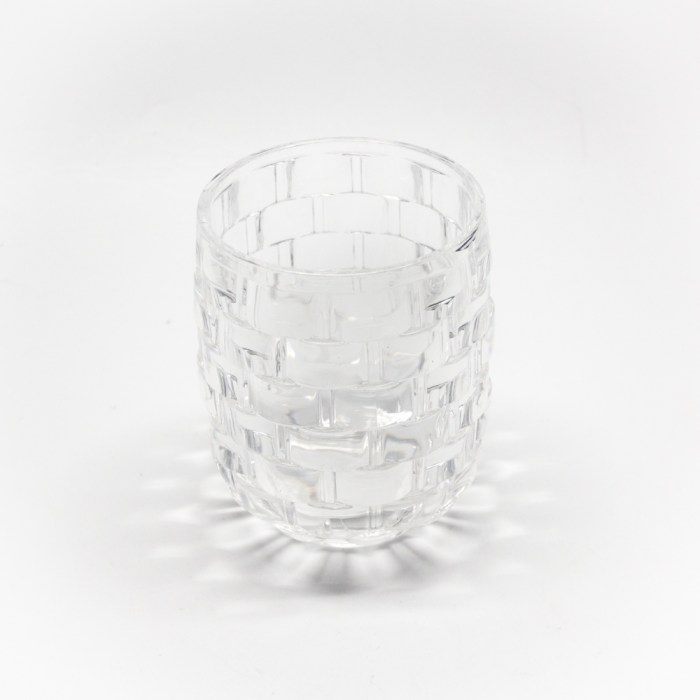 Bricks Creative Bathroom Dish for Soap Clear