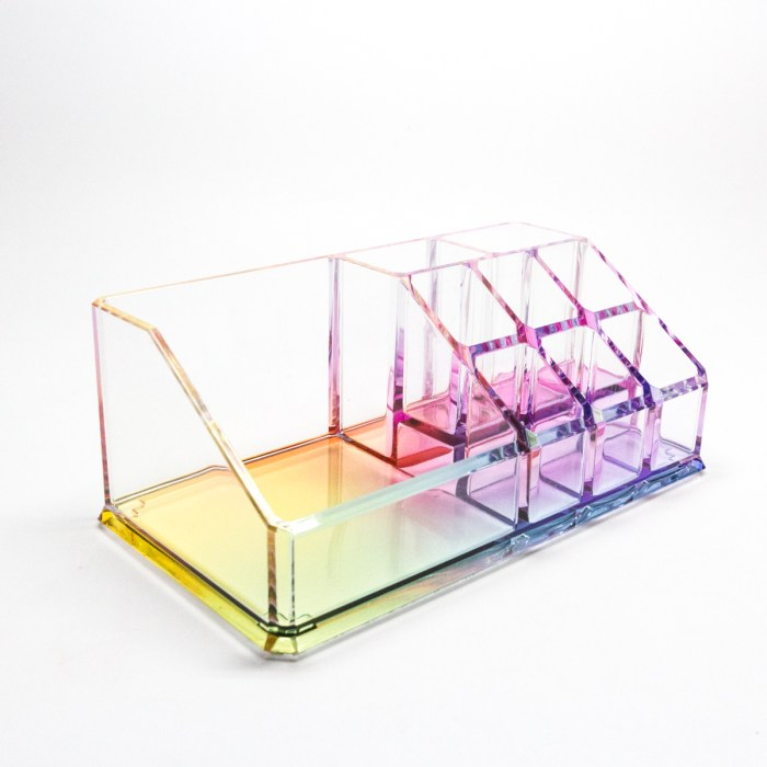 Multifunction Office Stand Holder Deep Rainbow