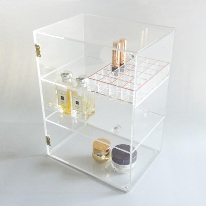 Acrylic Large 3 Layer Anti Dusti Cosmetic Cabinet