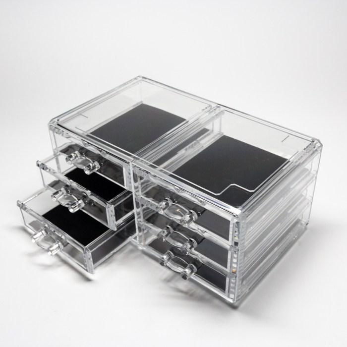 Transparent Multipurpose Storage Box With 6 Drawers