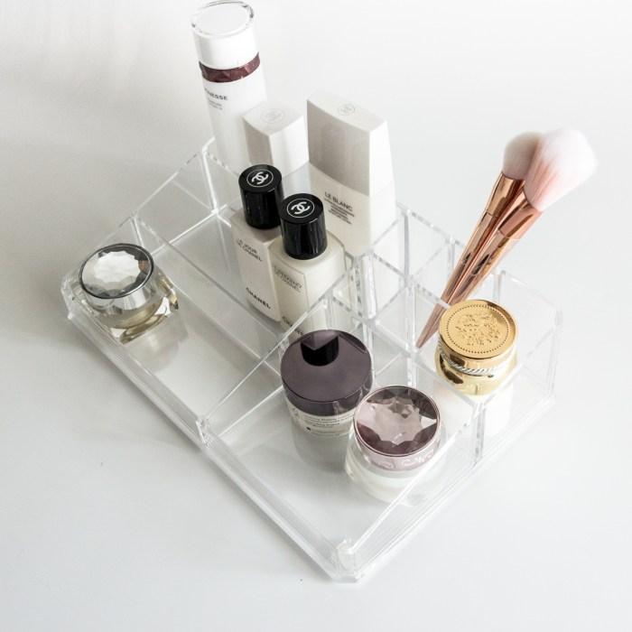 Desktop Transparent Acrylic Lipstick and makeup Organizer