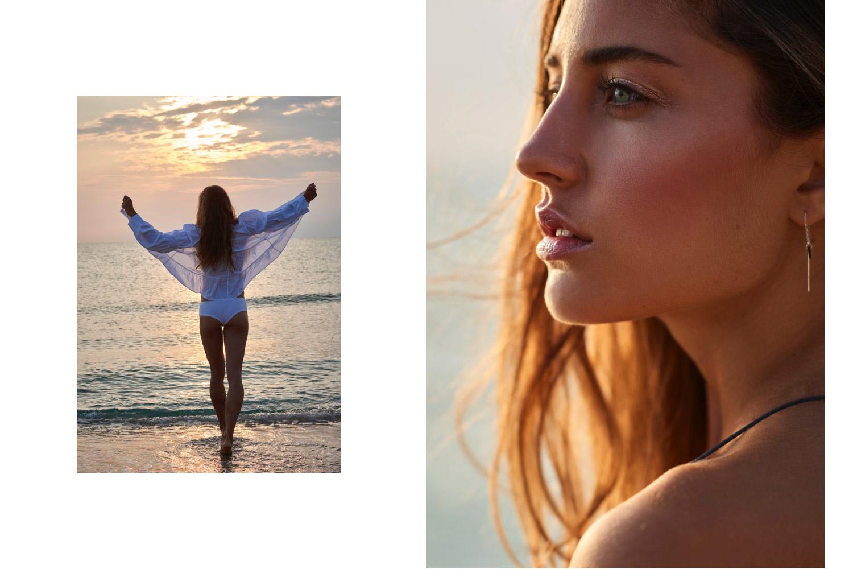 Sunrise Girl Beach Divine Female Power