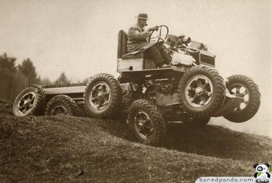 Terreng kjøretøy