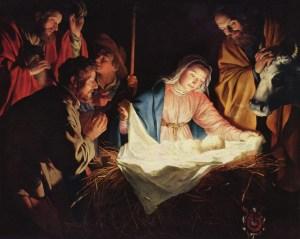 Jesus blir født