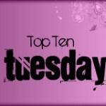 Topp 10 uleste bøker i bokhylla