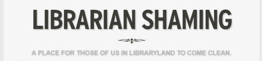 Librarian shaming