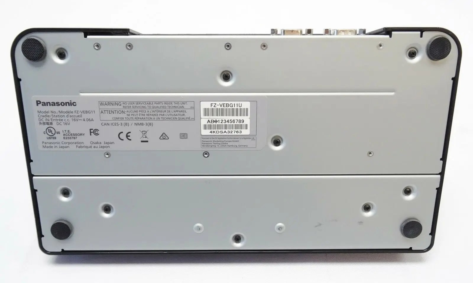 Panasonic FZ-VEBG11 ToughPad Desktop Cradle Docking Station