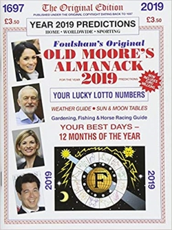 OLD MOORE'S ALMANACK COVER 2019