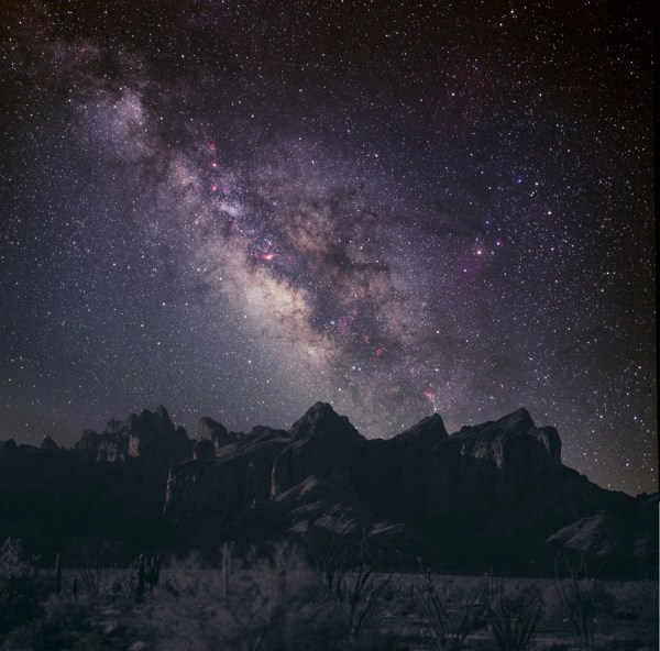 Pictures of the Night Sky Milky Way Galaxy From Earth
