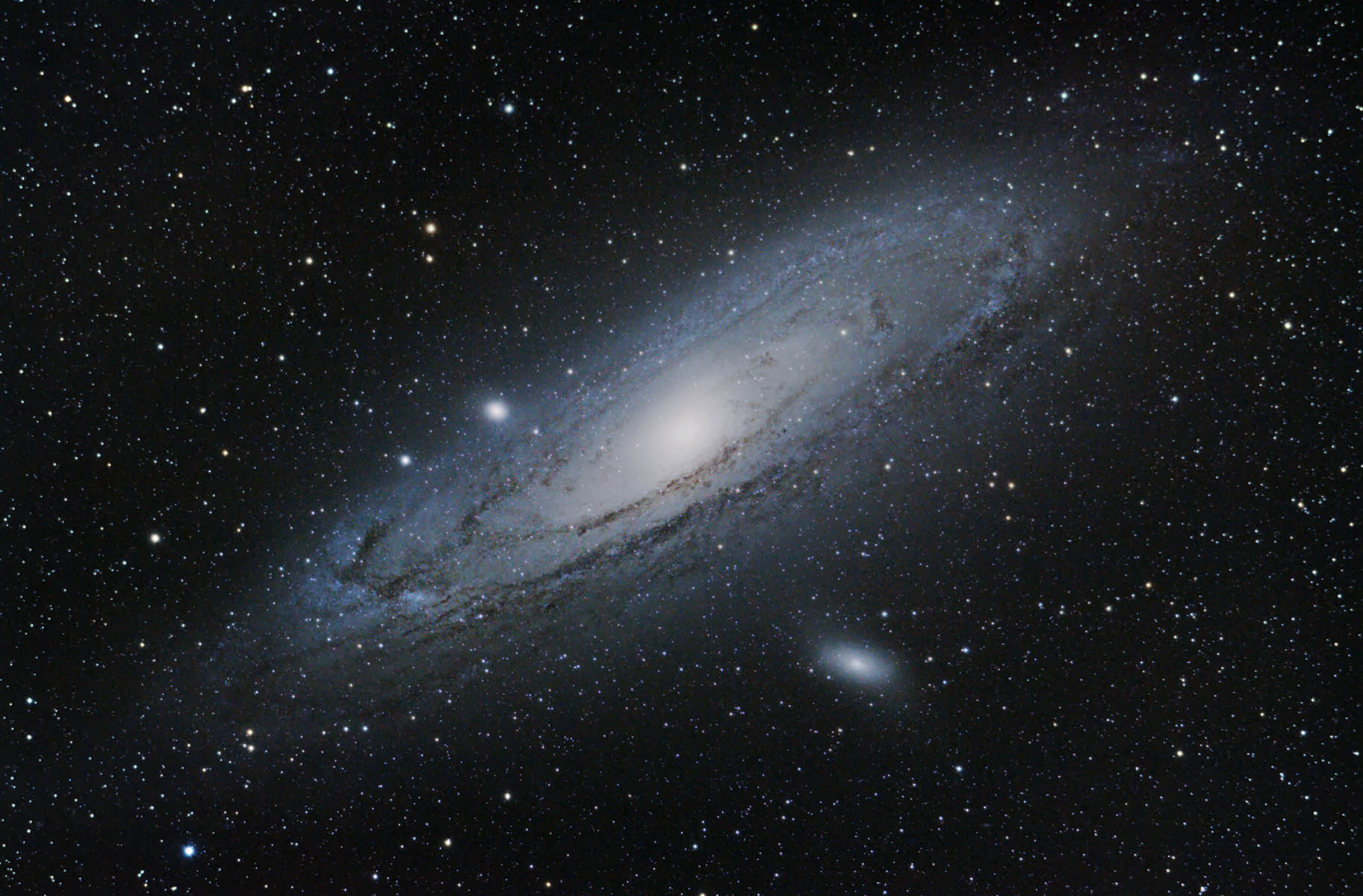 hight resolution of m31 andromeda galaxy