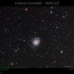 Galassia Girandola - M101 (v2)