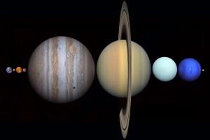 Planetas Tierra Luna