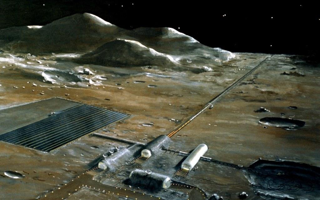 ¿Podríamos construir ciudades en la Luna?