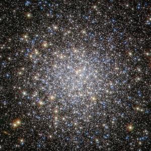 El cúmulo globular Messier 5. Crédito: NASA/STScI/WikiSky