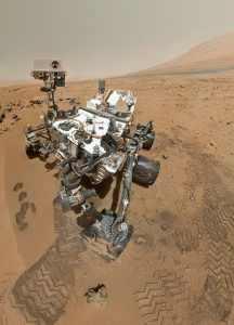 Imagen del rover Curiosity. Crédito: NASA/JPL-Caltech/Malin Space Science Systems