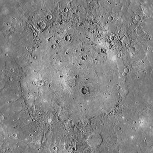 Una imagen de la Cuenca Caloris... ¿La reconoces? Crédito: NASA
