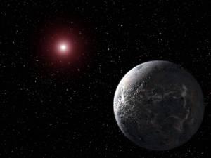 Concepto artístico de OGLE-2005-BLG190Lb. Crédito: NASA/JPL-Caltech