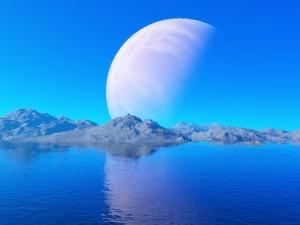 Una luna extrasolar que fuese habitable nos plantearía una pregunta quizá incluso más interesante... Crédito: CBC11/Wikipedia