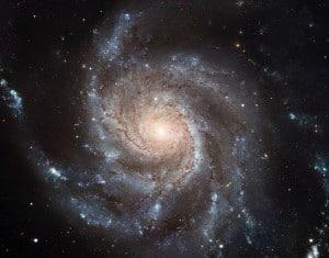 La Galaxia del Molinete. Crédito: European Space Agency & NASA