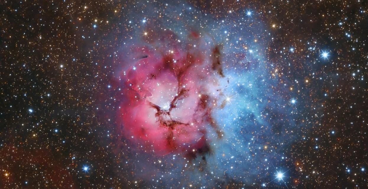 Los objetos Messier: M20, la Nebulosa Trífida