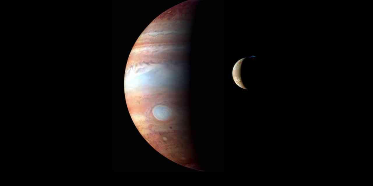 Ío, el satélite volcánico de Júpiter