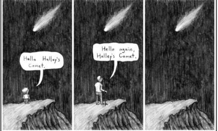 La triste historia del cometa Halley
