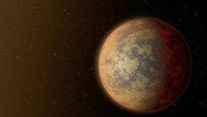 Este concepto artístico muestra como podría ser HD 219134b, el exoplaneta rocoso, confirmado, más cercano al Sistema Solar. Crédito: NASA/JPL-Caltech