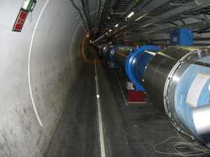 Una sección del LHC. Crédito: alpinethread/Wikipedia