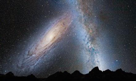 Las colisiones entre galaxias