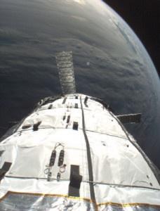 Genesis I, el primer módulo de Bigelow Aerospace en órbita. Crédito: Bigelow Aerospace