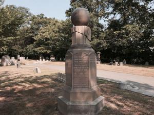 Monumento de la familia Leavitt, en el cementerio de Cambridge, con una inscripción de Henrietta. Crédito: Arnold Reinhold/Wikipedia