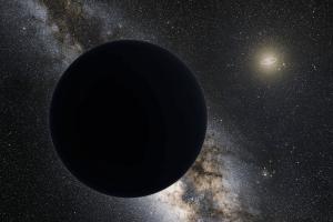 Representación artística del Planeta Nueve. Crédito: Tom Ruen/Wikipedia