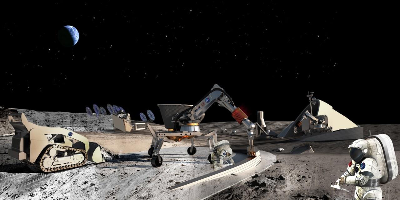 El estudio de la NASA sobre una base lunar