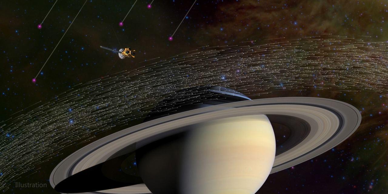 La sonda Cassini tropieza con polvo interestelar