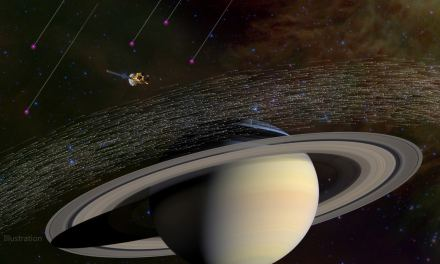 La sonda Cassini tropieza con polvo interestelar