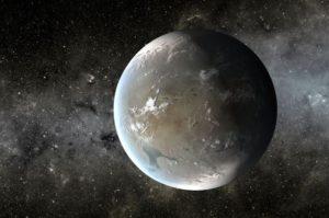 Otro concepto artístico de Kepler-62f. Crédito: NASA Ames/JPL-Caltech/T. Pyle