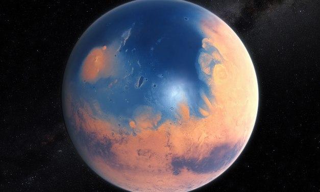 Marte pudo experimentar megatsunamis
