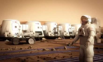 Cultivando vegetales en Marte