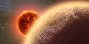 Concepto artístico de un planeta alrededor de una estrella.  Crédito:  Dana Berry/MIT