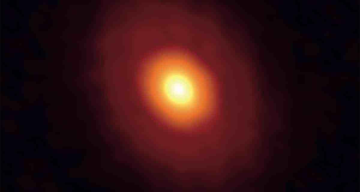 Una estrella nos muestra su línea de congelamiento