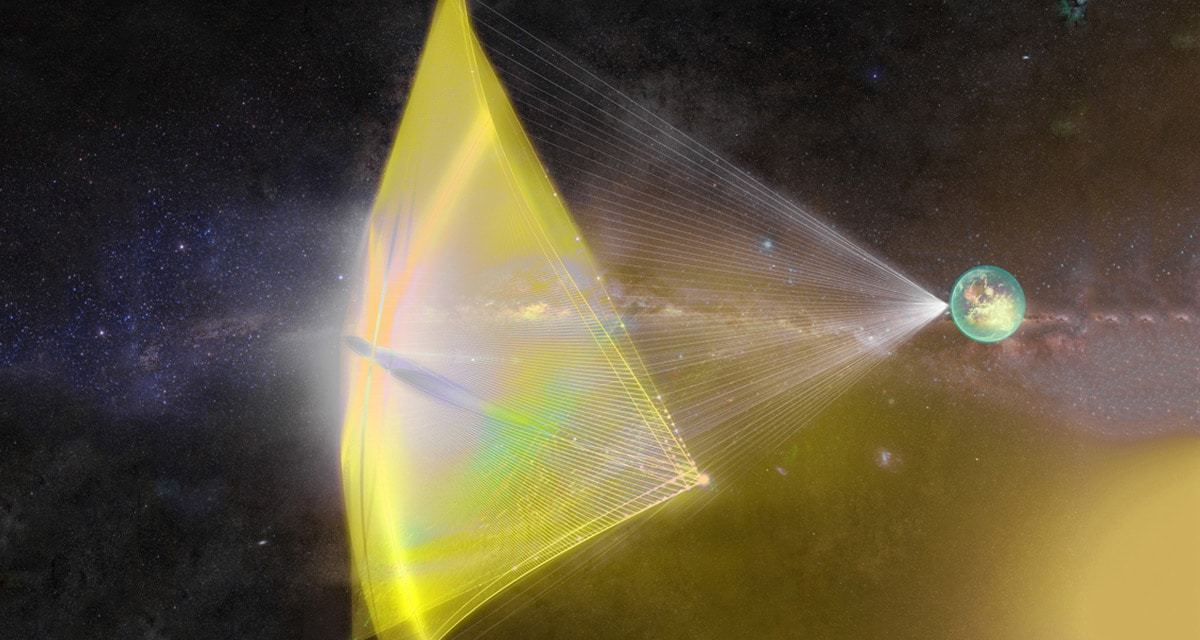 La erosión de las sondas de Breakthrough Starshot